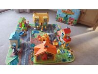 ELC Happyland Bumper Village Set - 7 Buildings, 40 Characters, & All Accessories