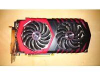MSI GeForce GTX 1060 6GB GAMING X Graphics Card
