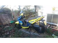 Kymco super 8, 50 cc, 4 stroke moped