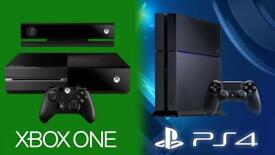 WANTED! FAULTY GAME CONSOLES XBOX ONE PLAYSTATION 4 PS4
