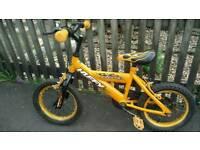 Huffy Inferno Orange Flame Bike