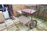 Pony training cart .plus all tak bridles saddle
