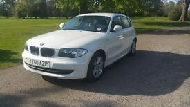BMW 1 SERIES 2010 (60 PLATE) LOW MILEAGE