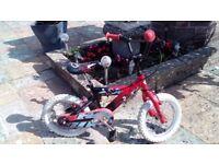 kids 14in wheel bike