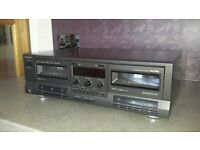 Technics Stereo Double Cassette Deck RS-TR333 in very good condition
