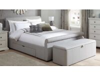 Dreams Lucia King Size Bed Frame C/W 2 Drawers
