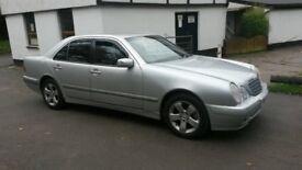 Mercedes E class silver 2.4