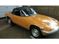 LOTUS ELAN WANTED IN ANY CONDITION FROM MINT RESTORED TO GARAGE FIND ** TOP PRICES PAID **
