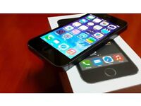 Apple iphone 5s 16gb unlocked any network ***good condition in box***100% original phone***