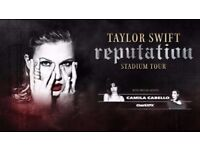 2 Tickets to Taylor Swift's Reputation Manchester Concert (08/06/18) *SOLD OUT*