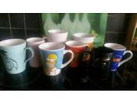 Mugs Simpsons pot noodle duck Eeyore