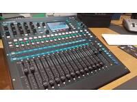 allen and heath qu16 mixing desk
