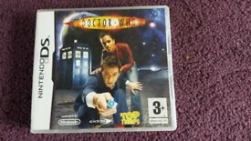 Nintendo DS Dr Who game