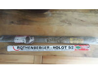 Rothenberger - Rolot S2 brazing rods and HRP solder rods