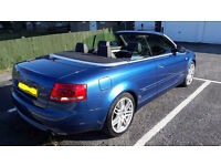 Audi A4 B7 Cabriolet 2008 (08) 2d Special edition 2.0 TFSI multitronic