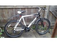 MEN'S BIKE £55 POUND SOLD AS SEEN NO OFFERS NO TIME WASTER PLEASE /DELIVERY AVAILABLE