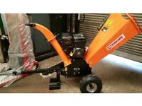 Briggs And Stratton wood timber chipper, Shredder, Mulcher 13hp Tow towable. New 12months warranty