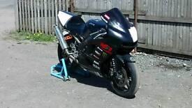 Zx6r track bike