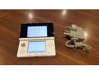 Nintendo Handheld Console 3DS - Ice White - Unboxed