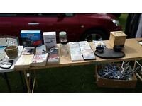miscellaneous boot sale goods