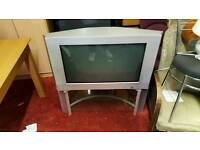 Large TV with stand