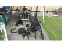 Phil & Ted Sport with double buggy plus Accessories
