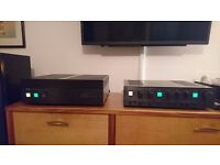 High-end vintage Yamaha C4/M4 pre & power amps *VERY NICE*