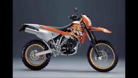 Ktm 400 sxc 1999 breaking all parts
