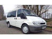 Ford Transit 20 TDI Tourneo GLX 6 Door Manual 9 SEATS, 3 MONTHS WARRANTY, 1 PREVIOUS OWNER, TIDY BUS