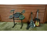 Drum and guitar kit