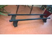 Roof Rack: Thule T 755 ( 757 ) Foot pack and 761 Square Roof Bars 120cm