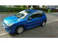 Late 2007 Peugeot 206 look....full years MOT....2 Owners from new