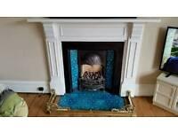 Victorian/Edwardian Cast Iron Fireplace