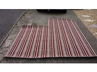 Brand new carpet offcut roughly 8'x7' stripes