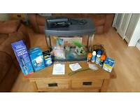 Love fish panorama 40 litre fish tank open to offers need gone.
