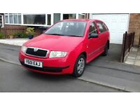 1.4l Petrol Skoda Fabia Estate - cracking motor used daily, FSH, all papers, power steering, air con
