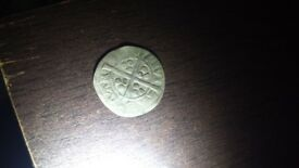 Silver hammered coin edward 2nd