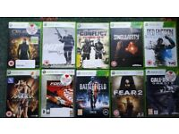 Xbox 360 games games
