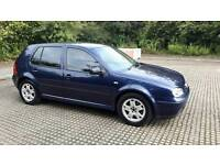 VW GOLF TDI 2001 12 MONTHS MOT