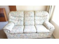 G Plan 3 seater Sofa and one armchair