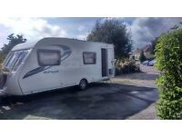 Immaculate 6 Berth family caravan Sterling Europa 570