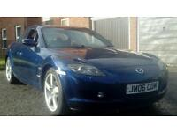 Mazda RX 8 231 bhp car is faultless open to offers
