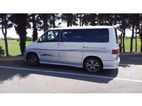 Mazda Bongo with Awning and Camping Equipment