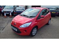 Ford Ka Style, 2010/59, 1.25 Petrol, 43000 miles, New MOT, 3 Door, 5 Speed Manual, Red, Tax Band C