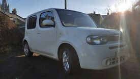 2011 Nissan Cube (White) Excellent Condition 2 previous owners full history.