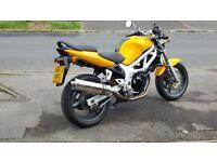 Suzuki sv650. Very good condition. Low mileage.
