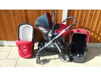 USED SILVER CROSS TRAVEL SYSTEM CLEAN.
