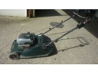 Hayter harrier 48 self propelled mower cost £800