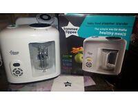Brand New in box Tommee Tippee Baby Food Steamer Blender