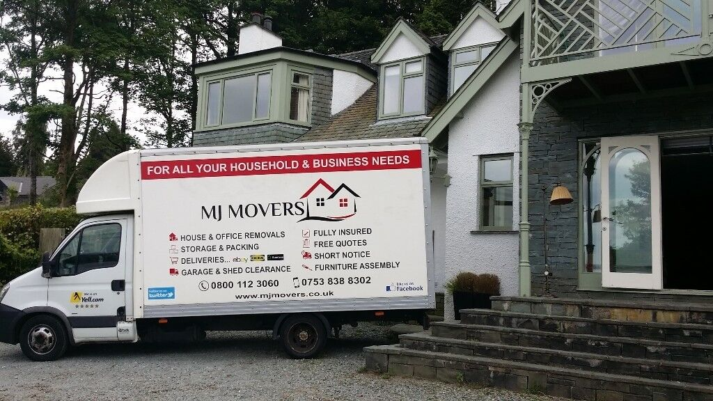 19a5648812 Professional house removals Belper   man and van in Belper   single item  delivery   MJ MOVERS Ltd